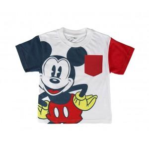 SS17MK Pigiama da bambino estivo Mickey Mouse in cotone taglie dai 2 ai 6 anni