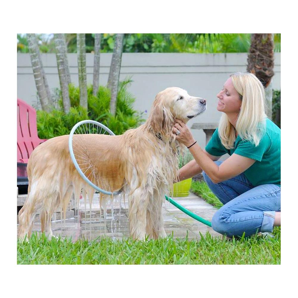 Innovativo sistema per lavaggio cani 360° 370014 WASH DOG rondella ø 41 cm