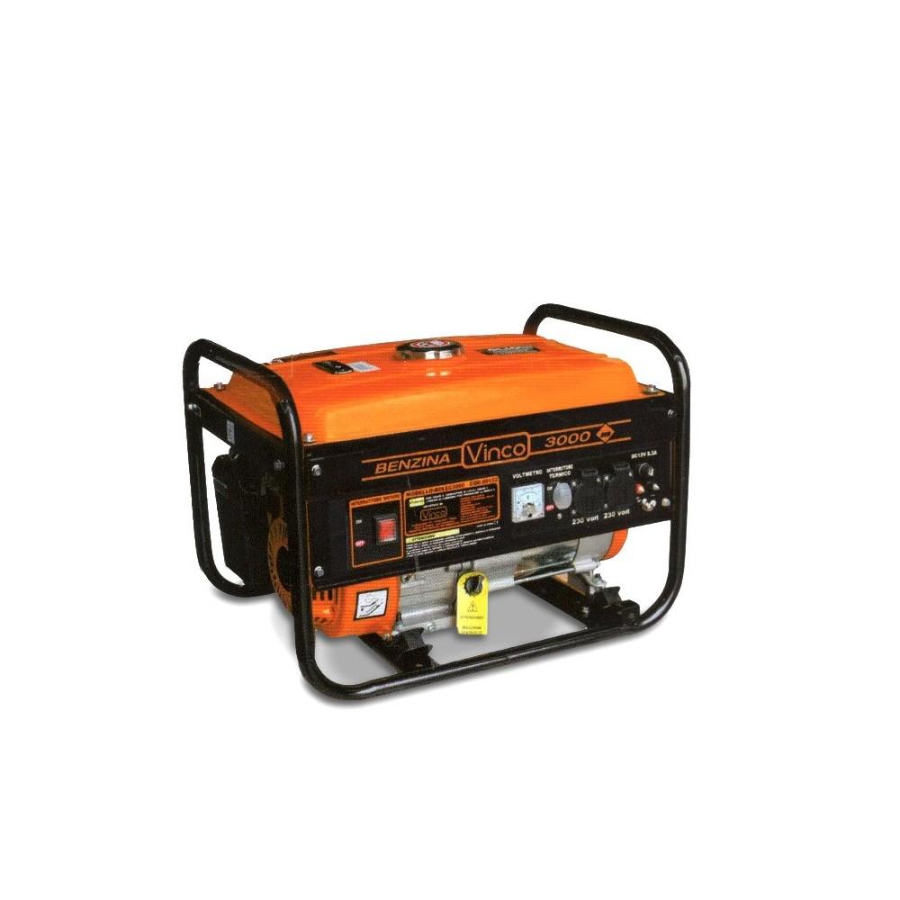 60128 Generatore di corrente VINCO 4 tempi a benzina controllo analogico