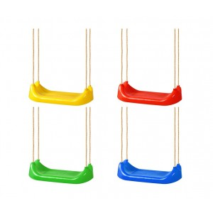 321324 Sedile altalena CIGIOCHI in vari colori con corde per il montaggio