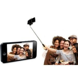 Asta per selfie di gruppo portatile compatibile con smartphone e fotocamere