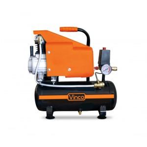 60612 Compressore serbatoio 6 lt Vinco doppio manomentro 8bar monofase 110 Vm