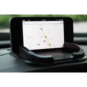 Image of Supporto antiscivolo tappetino auto per smartphone e gps porta cellulare cruscotto SKIDPROOF 8028650896455