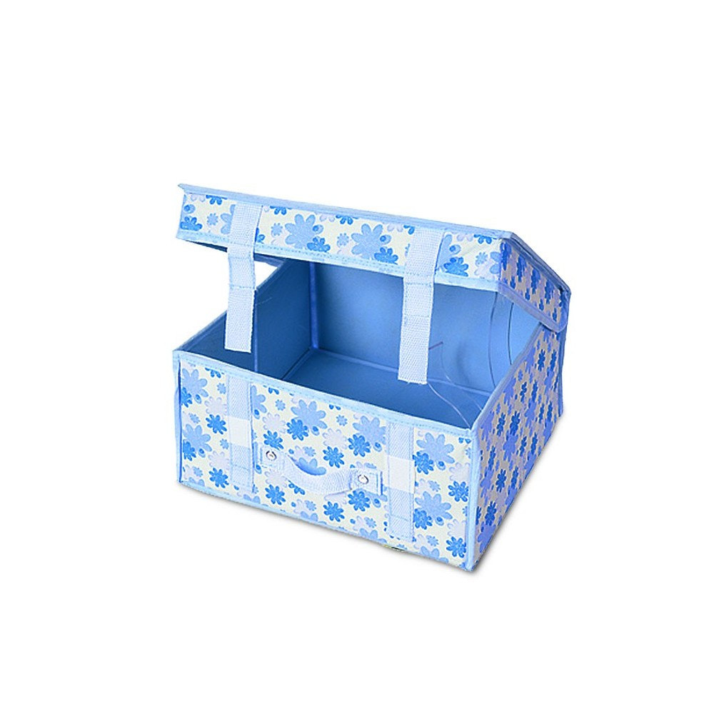 748227 Organizer cesta salva spazio per armadio 16x30x27 cm pratica maniglia