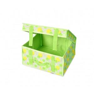 Image of Organizer cesta salva spazio 748227 per armadio 16x30x27 cm pratica maniglia 7106899120966