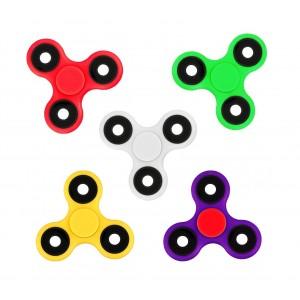 Pack da 3 Fidget spinner 4260 gioco antistress colori mix Triangle plastica