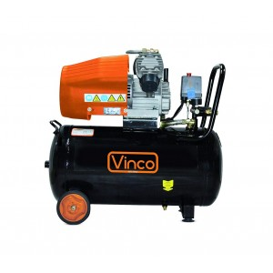 60606 Compressore serbatoio 50 lt Vinco doppio manomentro 8bar monofase 330 l/m