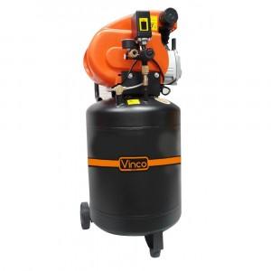 60611 Compressore serbatoio 50 lt Vinco doppio manomentro 8bar monofase 195 l/m