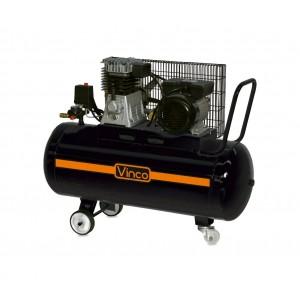 60604 Compressore trasmissione a cinghia Vinco serbatoio 100lt monofase 250 l/m