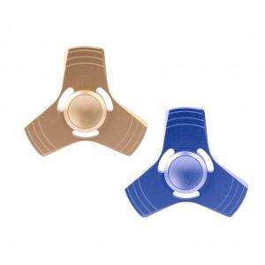 Image of Fidget tri - spinner 4282 gioco antistress in alluminio edc gyro toy 7106893599782