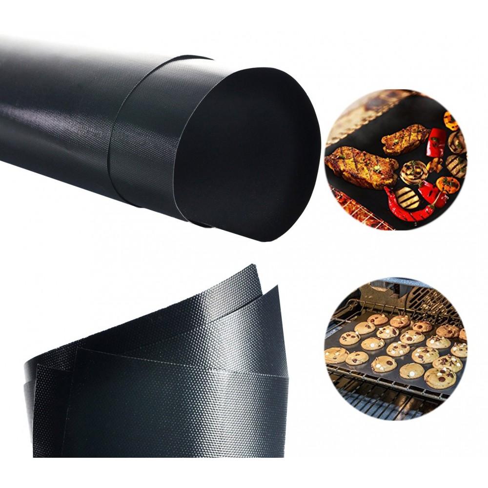 Set da 3 Tappeti griglia 40 x 33 cm forno e barbecue 3582 antiaderente