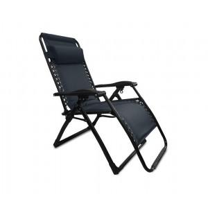 Set 2 sedie sdraio pieghevole COVERI COLLECTION 3852022 totalmente reclinabile