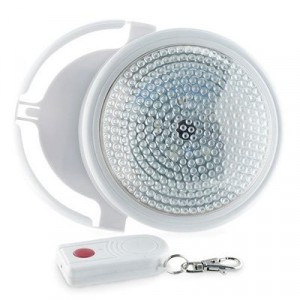 Image of Lampada led con telecomando luce bianca a batteria diametro 12,6 cm 797337290487