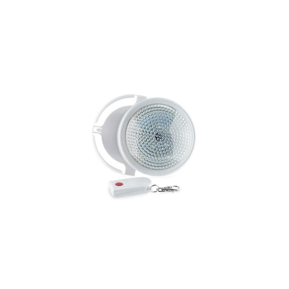 Lampada led con telecomando luce bianca a batteria for Luce bianca led