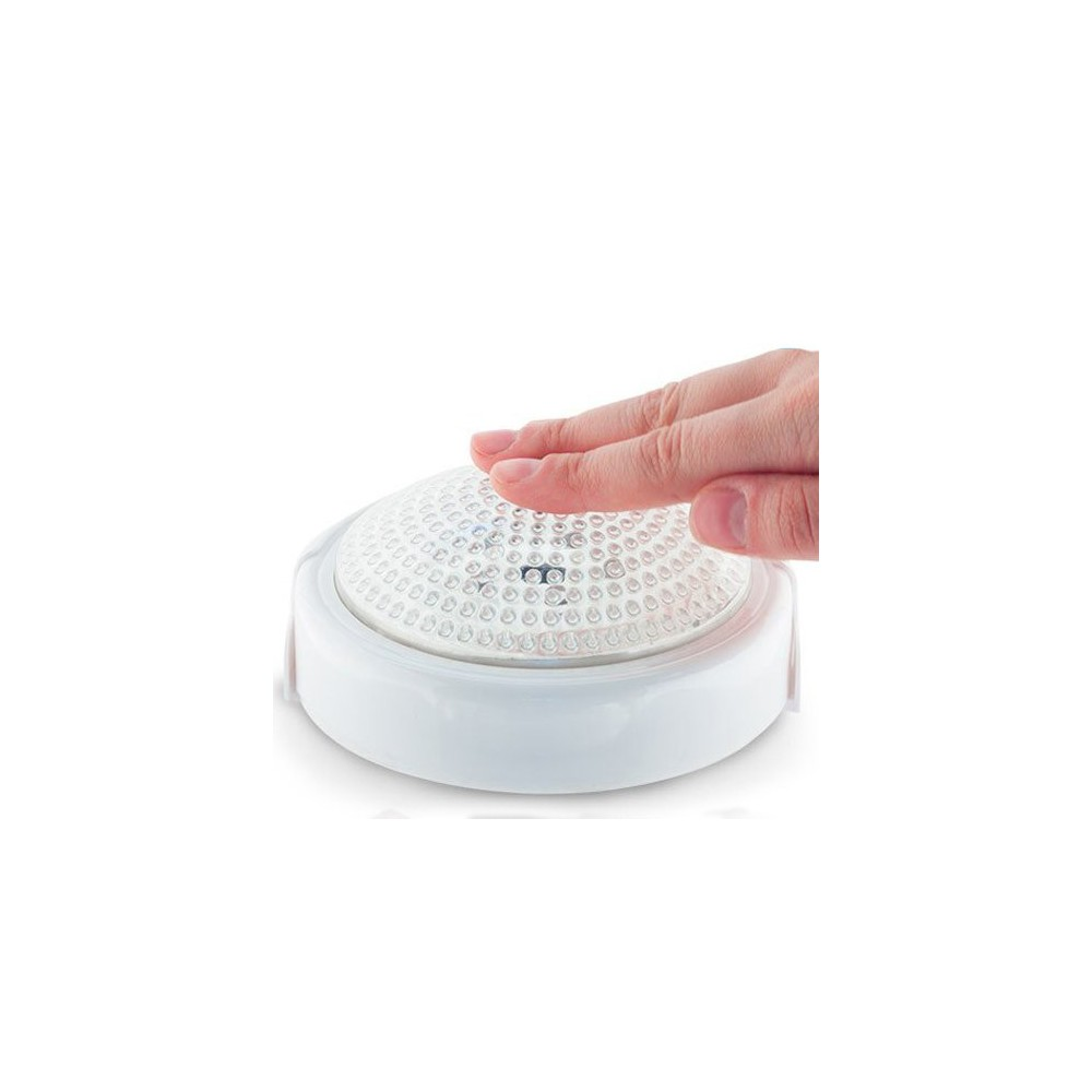 Accensione Lampadario Con Telecomando lampada led con telecomando luce bianca a batteria diametro