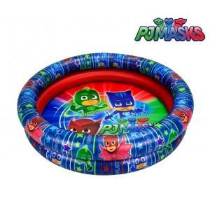 Piscina gonfiabile per bambini PJMASKS 2901 due anelli diametro 90 cm
