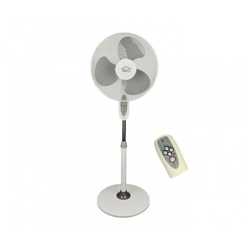 Ventilatore A Colonna DCG VE1620 TT Tre Velocità Ad Altezza Regolabile 45W