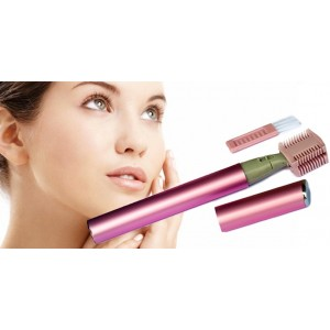 Image of Micro touch magic rasoio donna viso regola ciglie con pettine pulizia 8435524506448