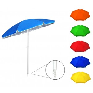 Ombrellone da spiaggia e giardino 374016 ONSHORE in vari colori 90/8 ø 170 cm