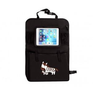 Organizer per auto 4222 ideale per bambini multitasche con finestra per tablet