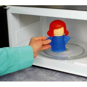 Accessorio per pulizia microonde 179108 CLEAN MAMA senza detersivi in plastica