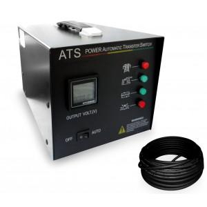 Image of Quadro di intervento automatico ATS VINCO 65299A monofase con cavo 7106896060883