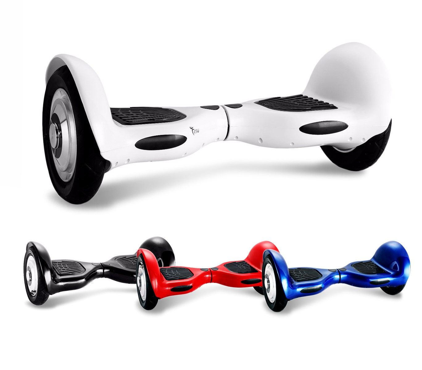 Hoverboard con ruote da 10  SMART DRIFTING SCOOTER 4426 led blutooth speaker