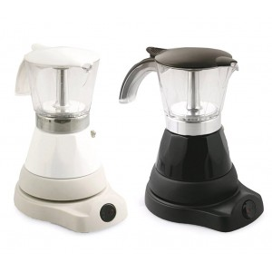 Caffettiera moka DENISE elettrica 3 tazze 700010 DICTOLUX 400W pratica e veloce