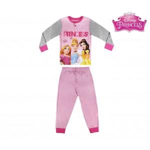 Pigiama da bambina 2200002291 Principesse Disney manica lunga dai 3 ai 7 anni