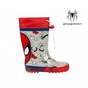 Stivali antipioggia galosce 2300001841 SPIDERMAN taglie da 24 a 31 in gomma