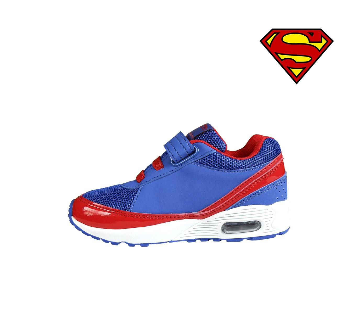 aa3459182b087 Scarpe da ginnastica per bambino SUPERMAN 2300002601 chiusura a ...
