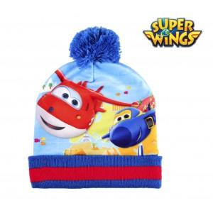 Completo per bambini inverno SUPER WINGS 2200002443  cappello guanti e pashmina