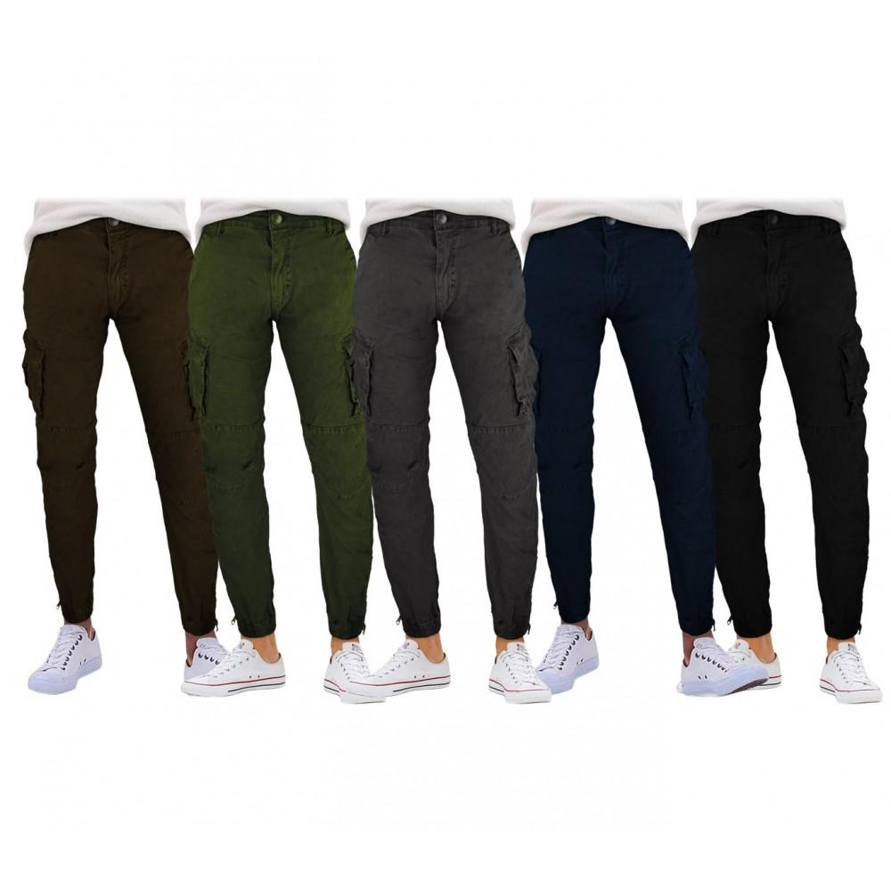 Pantalone cargo da uomo G-310 mod. Vincent G-9 JEANS con tasconi laterali