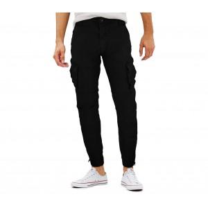 Image of Pantalone cargo da uomo G-310 mod. Vincent G-9 JEANS con tasconi laterali 7106896342330