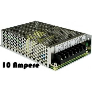 Image of Alimentatore stabilizzato 10 A con switch e trimmer protezione sovraccarichi 8435524508305