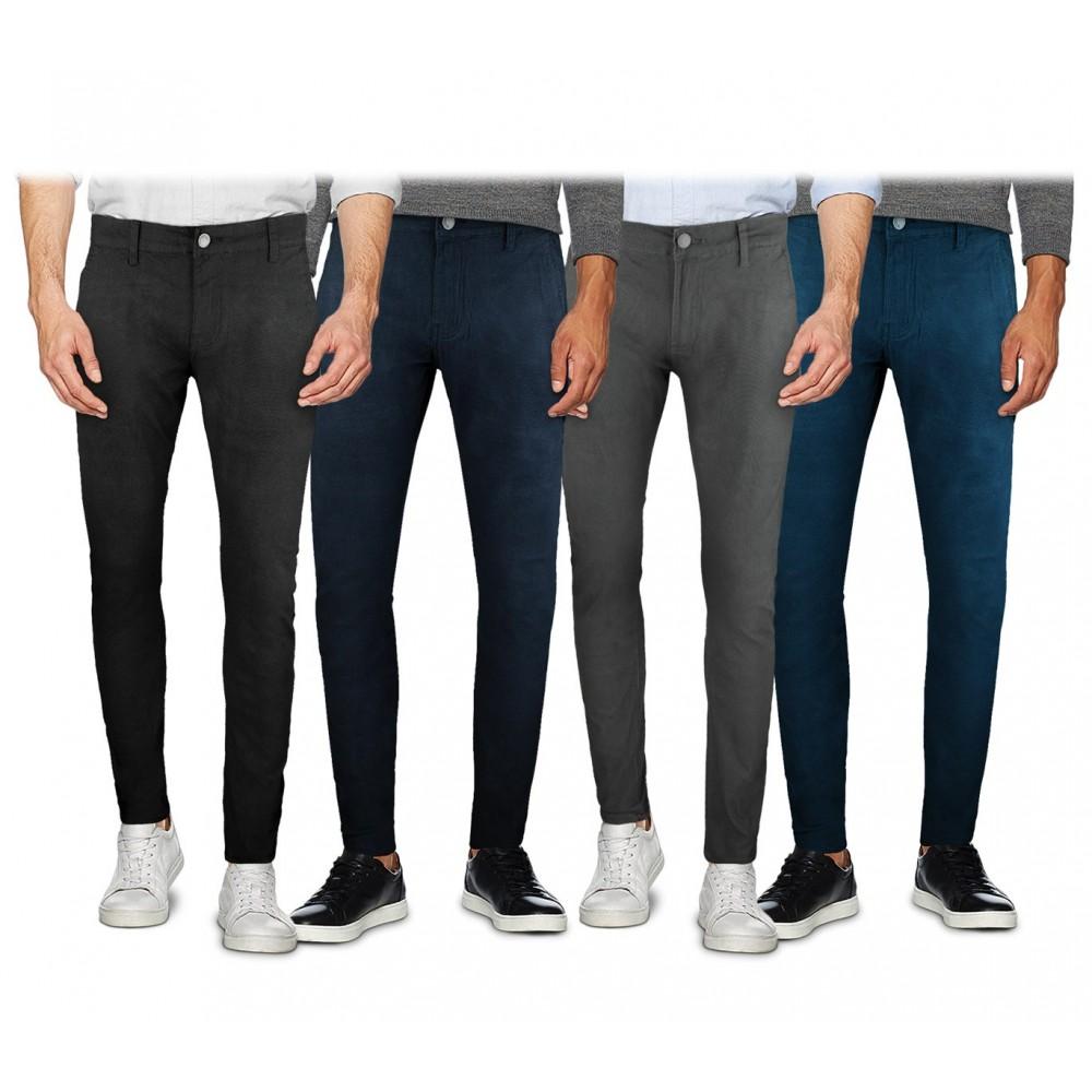 Pantalone chino 3-D JEANS da uomo D1130 mod. AETERNUM taglie dalla 44 alla 54