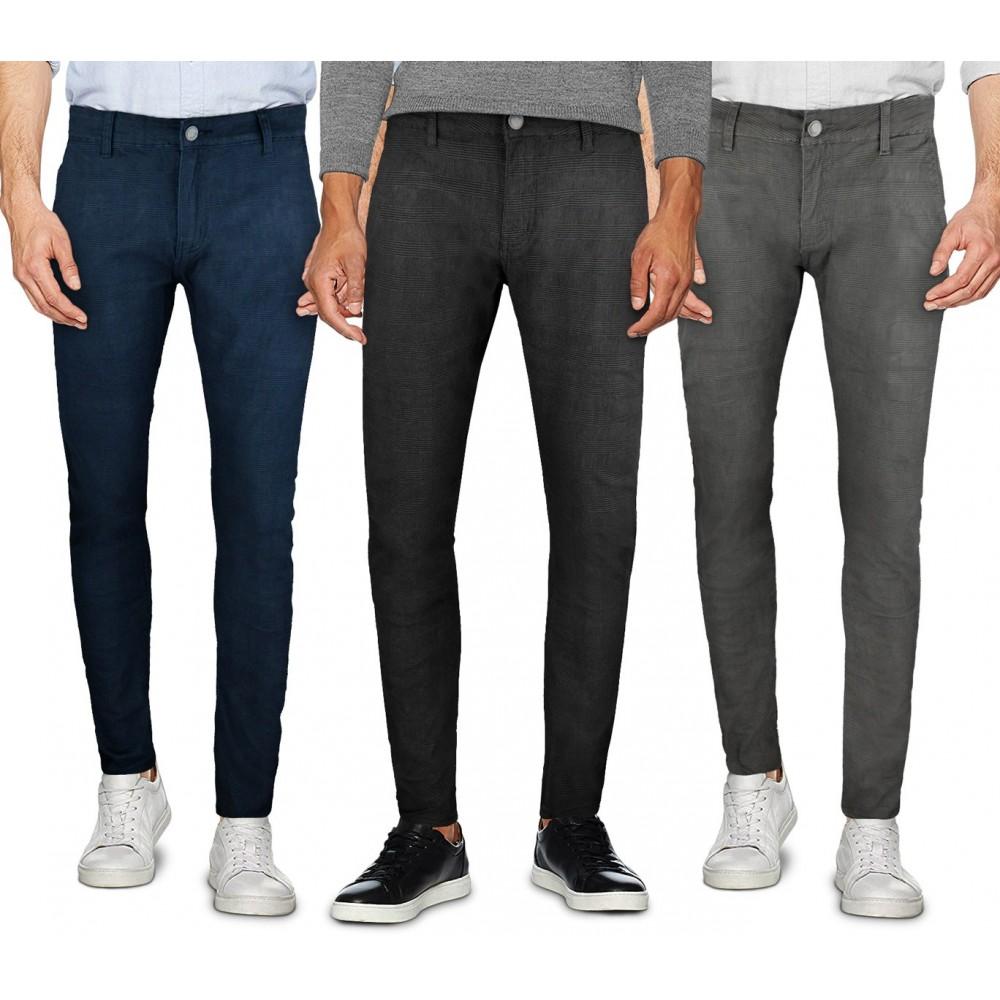 Pantalone chino 3-D JEANS da uomo D1126 mod. Ross taglie dalla 44 alla 54