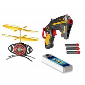 Image of Hover tech target fx drone volante 156595 GIOCHI PREZIOSI con pistola e 3 dardi 7106895400000