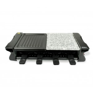 Image of Maxi piastra raclette 871101 DICTROLUX multifunzione 1200W con pietra ollare 7106892145577