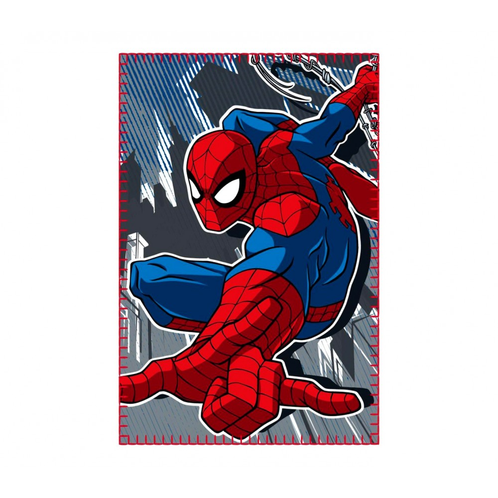 Coperta in caldo e morbido pile 437434 SPIDERMAN 100 x 150 cm plaid