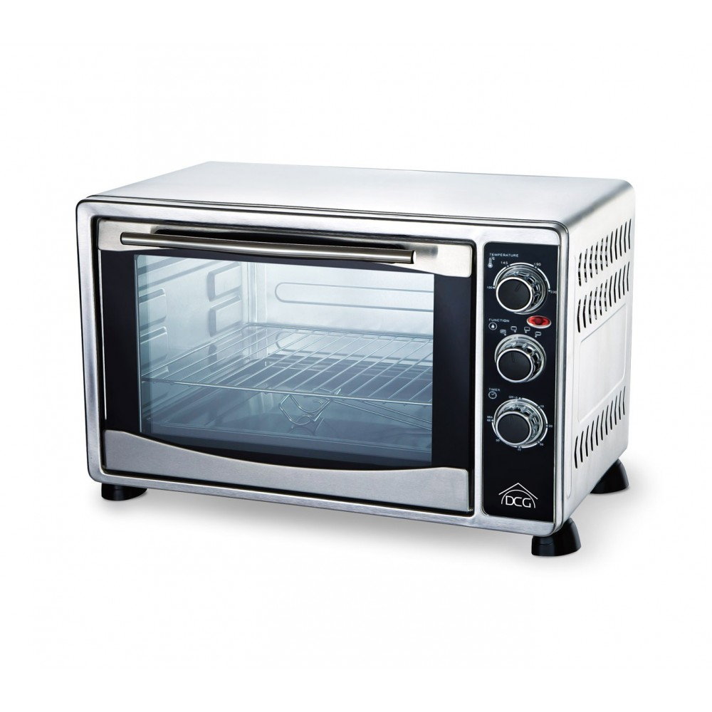 Multiforno elettrico 1500W 35lt DCG MBS35 termostato regolabile fino a 230°
