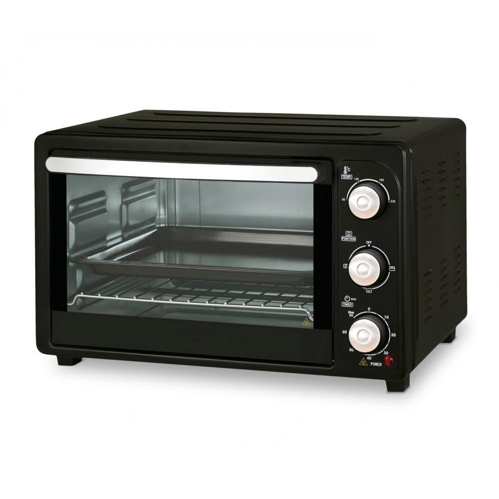Multiforno elettrico 1500W 28lt DCG MB9828N termostato regolabile fino a 230°
