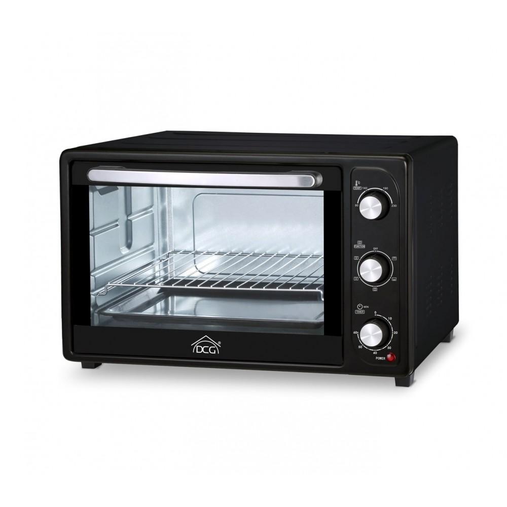 Multiforno elettrico 2000W 45lt DCG MB99845N termostato regolabile ventilato