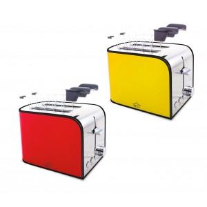 Tostapane elettrico TA8360 DCG in acciaio 2 scomparti con funzione scongelamento