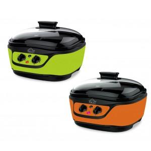 Multicooker robot cucina MB2400 DCG 8 funzioni in 1 capacità 5 LT e accessori