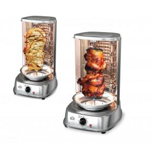 Forno elettrico 1200W verticale MB1022 DCG kebab pollo allo spiedo e spiedini