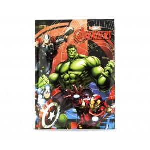 Image of Diario scuola 10 mesi 268414 The Avengers MARVEL agenda scuola BLU 7106898076936
