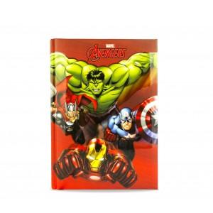 Image of Diario scuola 10 mesi 268414 The Avengers MARVEL agenda scuola ROSSO 7106891628453