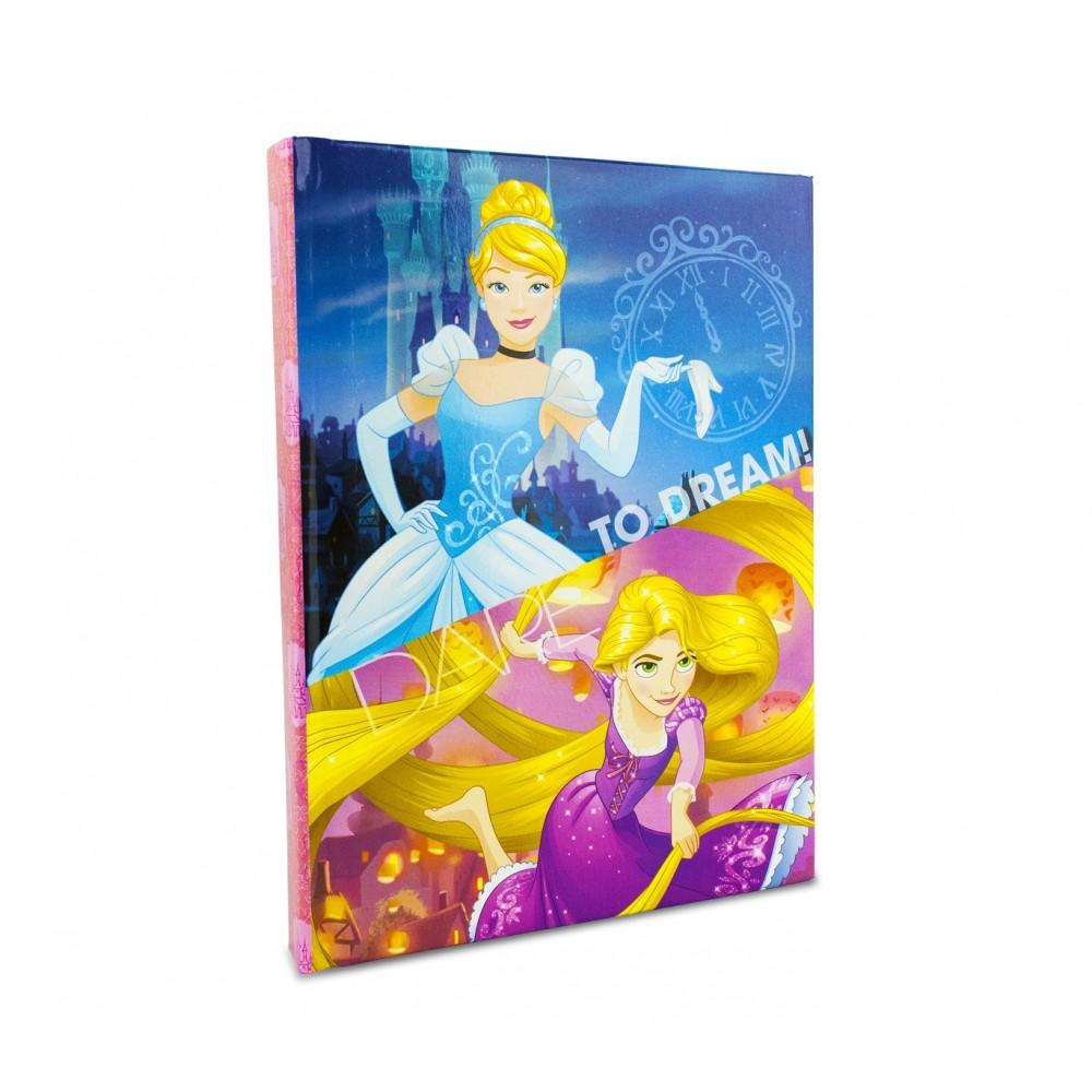 Diario scuola 10 mesi 617164 Disney princess grafica Raperonzolo e Cenerentola