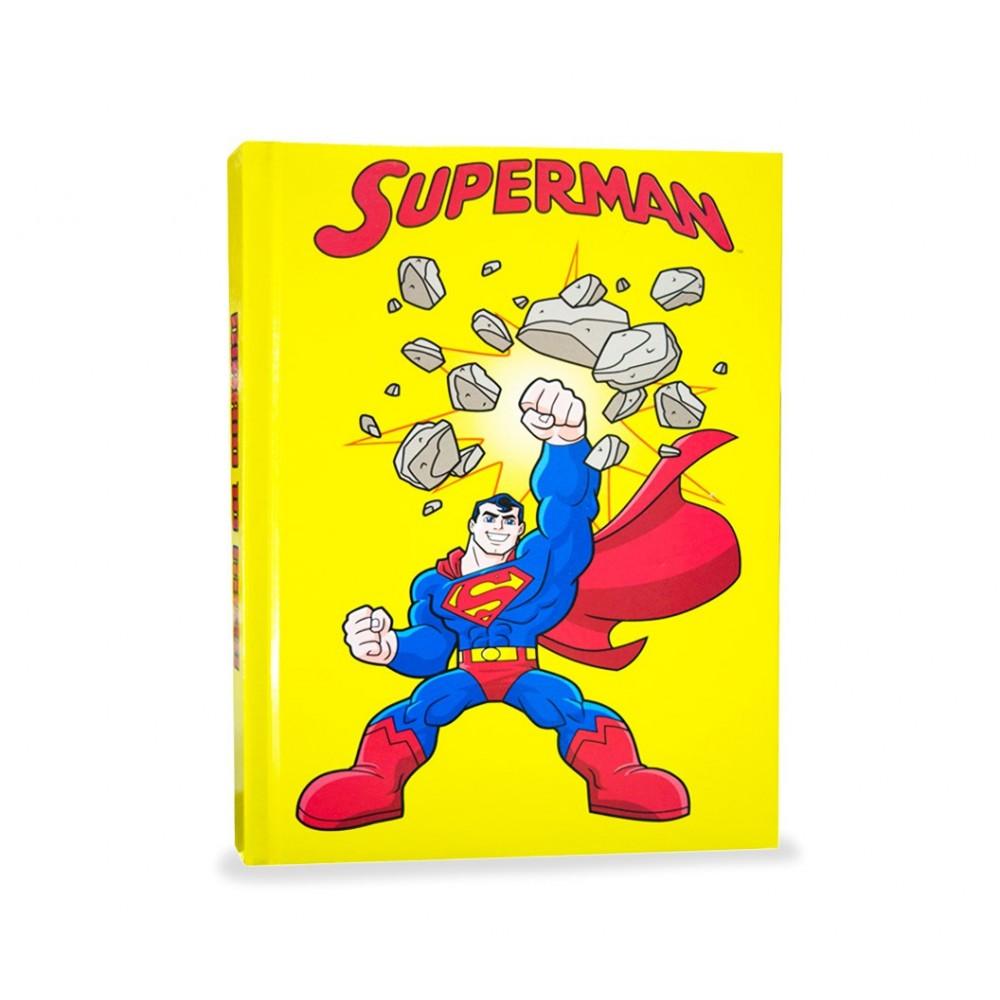 Diario scuola 10 mesi 610264 SUPERMAN agenda scuola super friends eroe